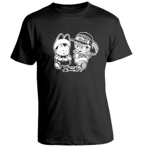 Camiseta Dr Slump Arale y Pisuke