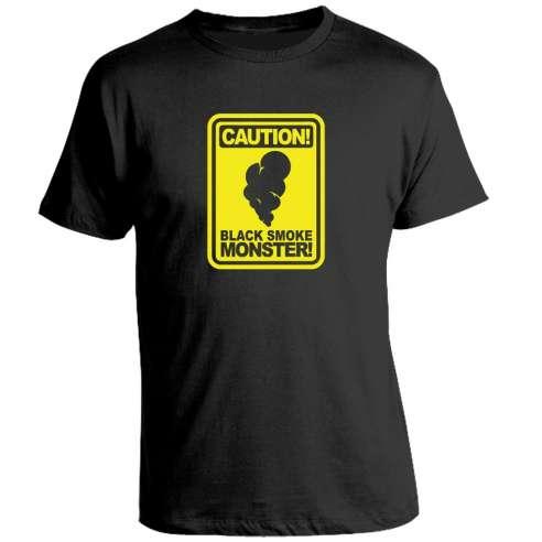 Camiseta Perdidos Humo Negro