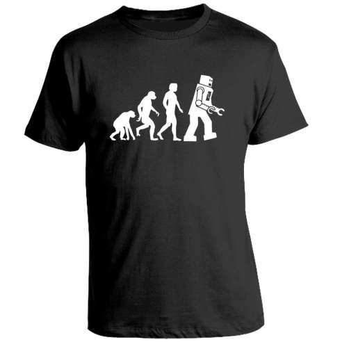 Camiseta The Big Bang Theory Evolution