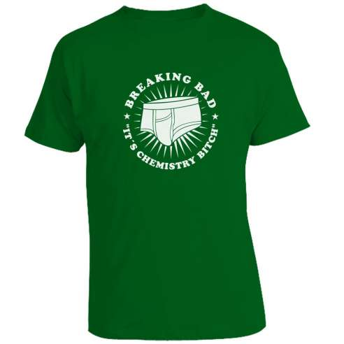 Camiseta Breaking Bad - It's a Chemistry Bitch