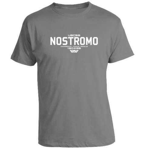 Camiseta Aliens Nostromo