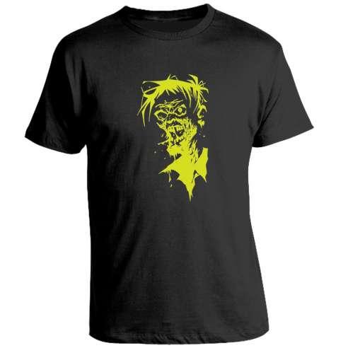 Camiseta Zombie Verde