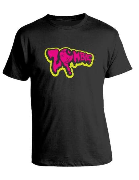 Camiseta Zombie Pop Pink