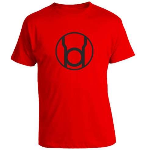 Camiseta Roja Sinestro Corps