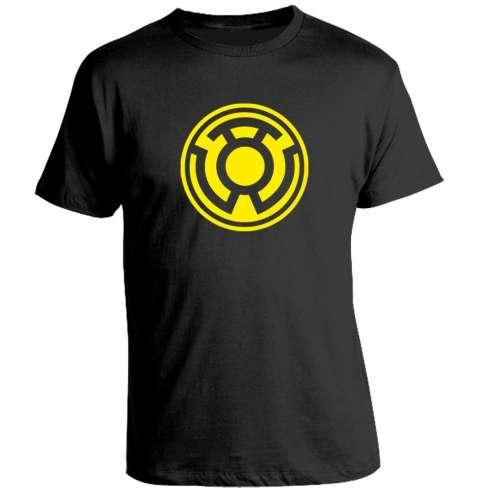 Camiseta Sinestro Corps Amarillo