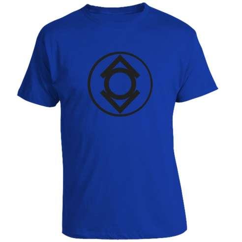 Camiseta Azul Sinestro Corps V2
