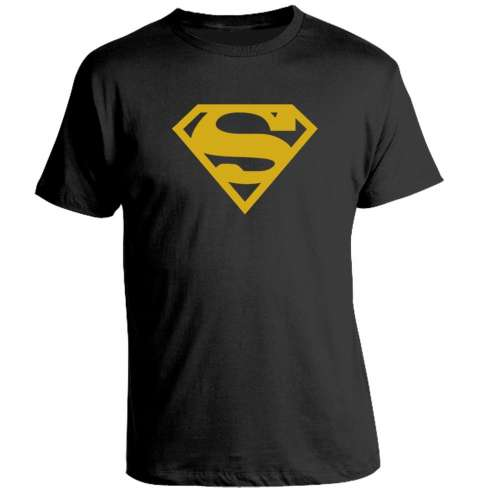 Camiseta Superman Gold