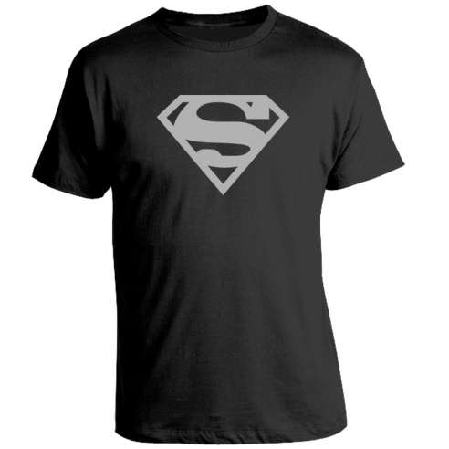 Camiseta Superman Silver