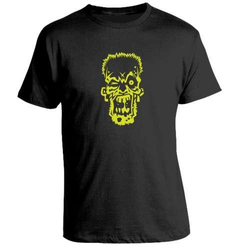 Camiseta Zombie Fluor
