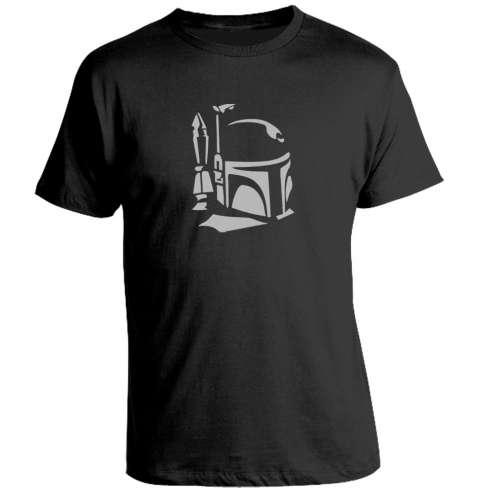 Camiseta Star Wars Boba Fett Helmet