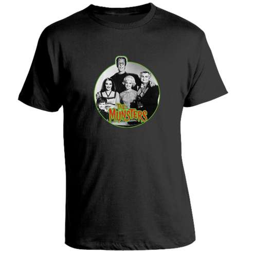 Camiseta Los Munsters