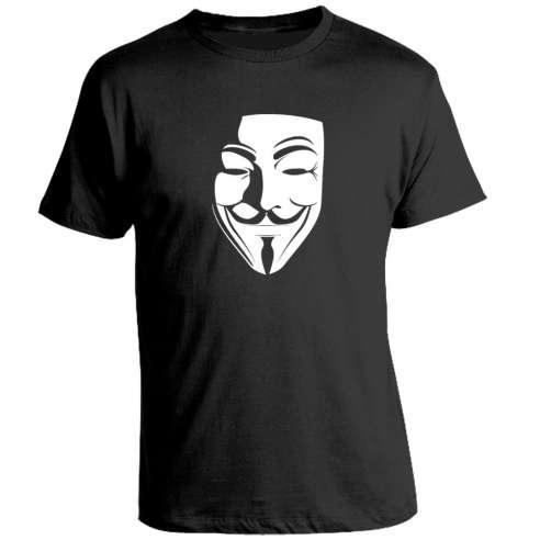 Camiseta V de Vendetta - Mascara
