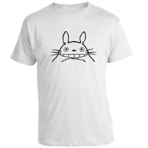 Camiseta Totoro Line Art