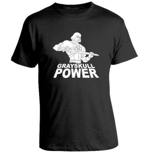 Camiseta He man Grayskull Power
