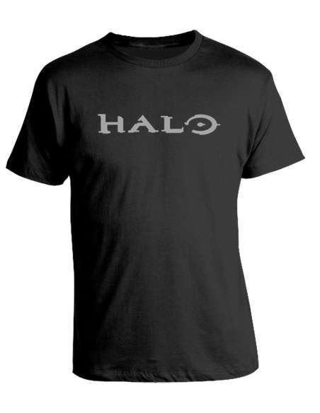 Camiseta Halo - Silver Logo