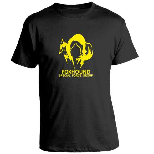 Camiseta Metal Gear Solid Solid Foxhound