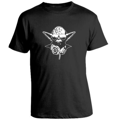 Camiseta Star Wars Yoda D.J.