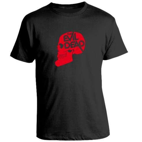 Camiseta Evil Dead Skull