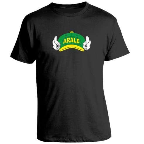 Camiseta Dr Slump Gorra Arale verde