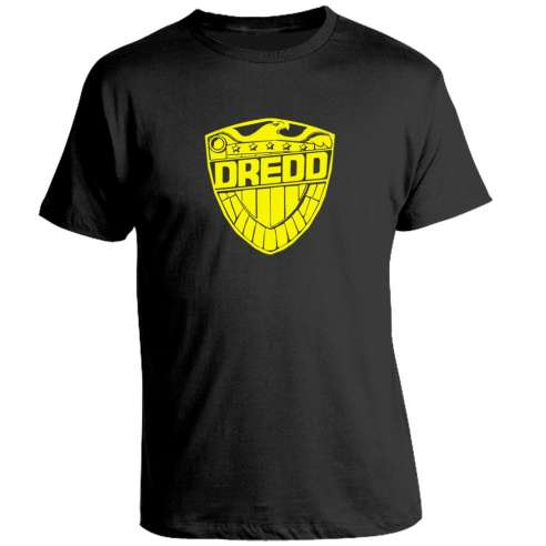Camiseta Judge Dredd Escudo