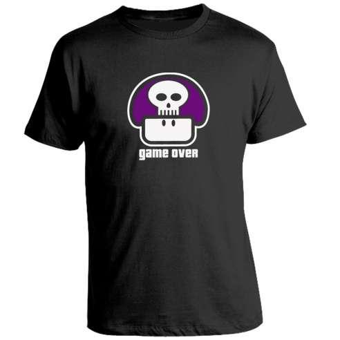 Camiseta Seta Game Over