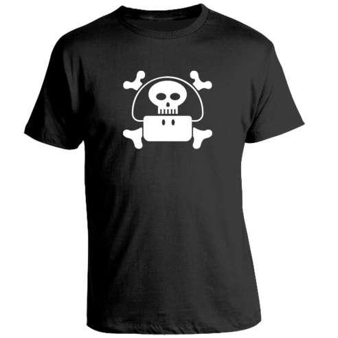 Camiseta Mario Bros Dead Mushroom