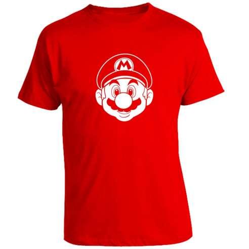 Camiseta Mario Bros Face