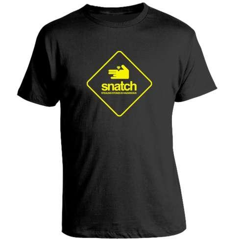 Camiseta Snatch, Cerdos y Diamantes