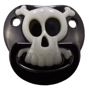 Chupete Billy Bob - Black Pirate Skull