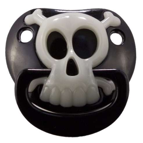 Chupete Billy Bob - Black Pirate Skull