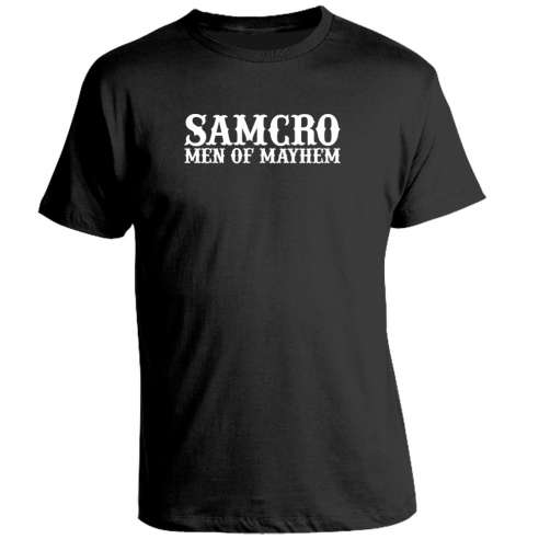 Camiseta Sons Of Anarchy Men of Mayhem