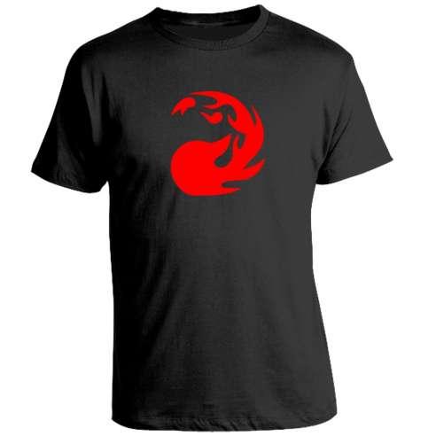Camiseta Magic The Gathering - Red Mana Symbol