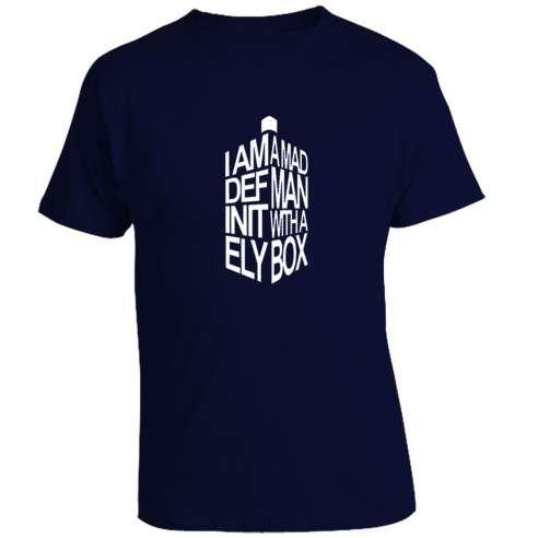 Camiseta Doctor Who - Tardis Type