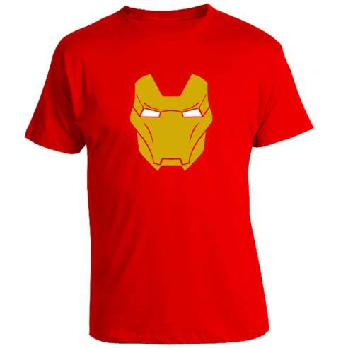 Camiseta Iron Man Mask