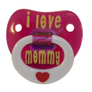 Chupete Billy Bob - I Love Mommy