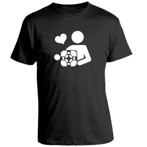 Camiseta Portal - Cube
