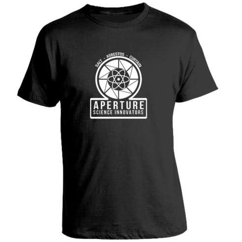 Camiseta Portal - Aperture Logo