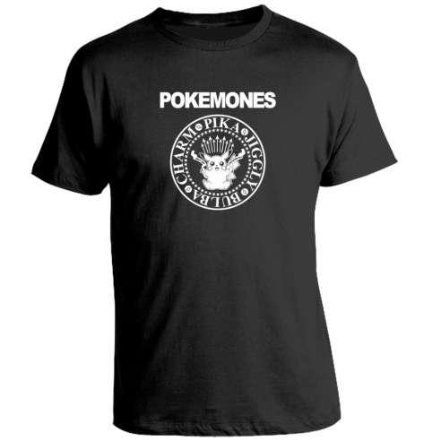 Camiseta Pokemones
