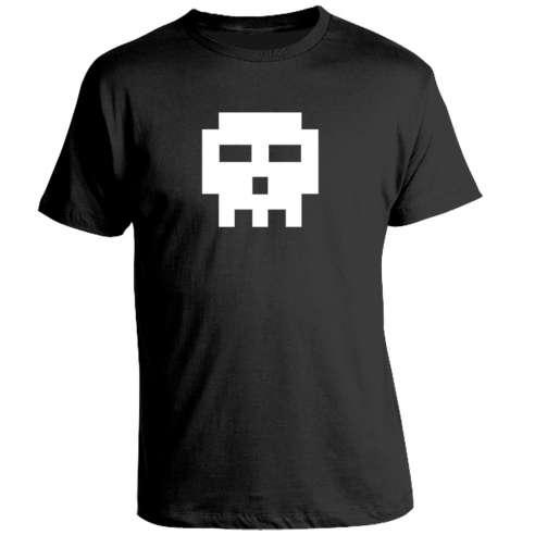 Camiseta Scott Pilgrim - Pixel Skull