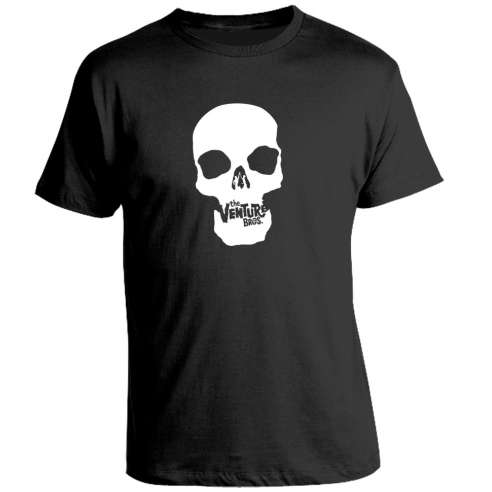 Camiseta The Venture Bros Skull