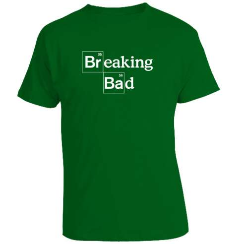 Camiseta Breaking Bad - Main Title