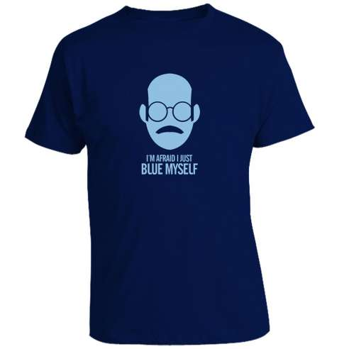 Camiseta Breaking Bad - Blue Myself