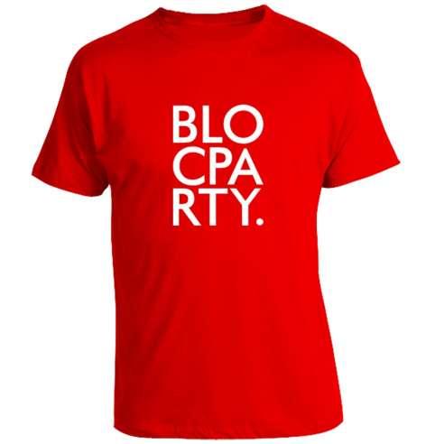 Camiseta Bloc party