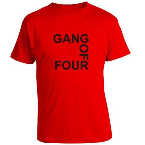 Camiseta Gans of Four