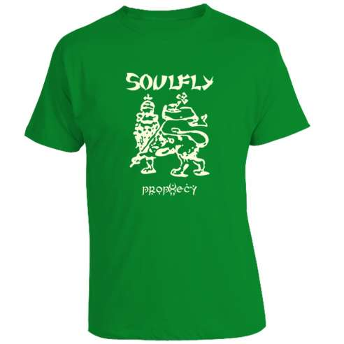 Camiseta Soulfly - Prophecy