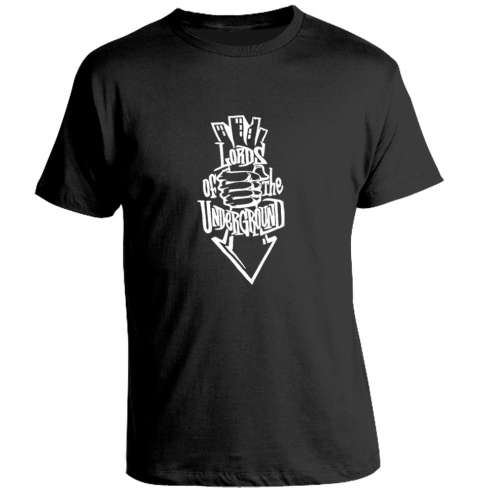 Camiseta Lords of Underground - Black
