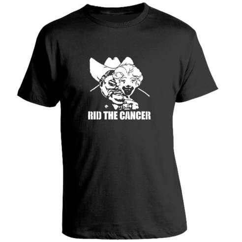 Camiseta Rid the Cancer