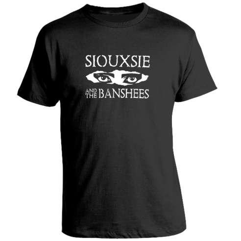 Camiseta Siouxsie and The Banshees eyes
