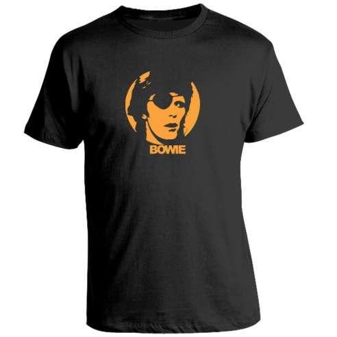 Camiseta David Bowie Parche