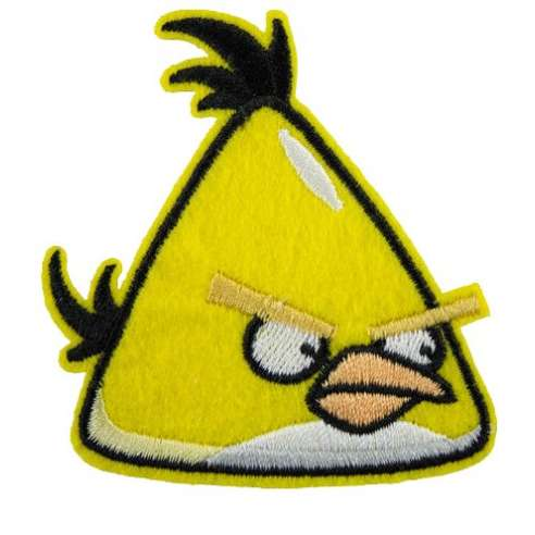Parche Angry birds - Chuck
